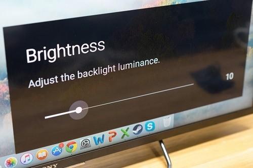 giảm độ sáng màn hình máy tính để bàn