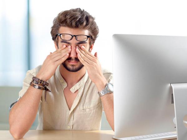 bảo vệ mắt khi làm việc màn hình máy tính