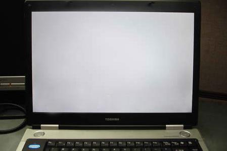 màn hình trắng