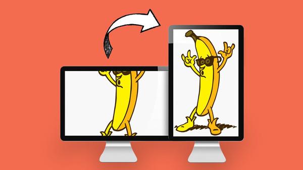 Sẽ thế nào nếu xoay dọc màn hình máy tính? 1