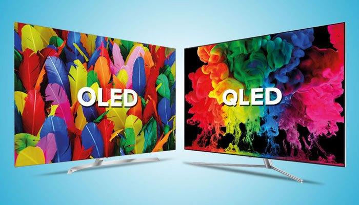 Chú ý: Đừng nhầm lẫn giữa công nghệ màn hình QLED và OLED 1